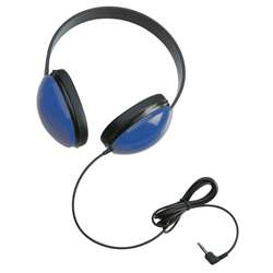 Listening First Stereo Headphones Blue By Califone International