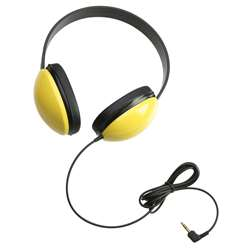 Listening First Stereo Headphones Yellow By Califone International