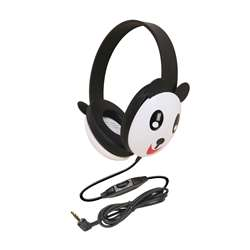 Listening First Animal-Themed Stereo Headphones Panda By Califone International