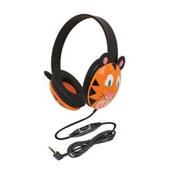 Listening First Animal-Themed Stereo Headphones Tiger By Califone International