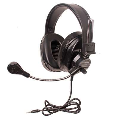 Deluxe Stereo Headset With To Go Plug, CAF3066BKT