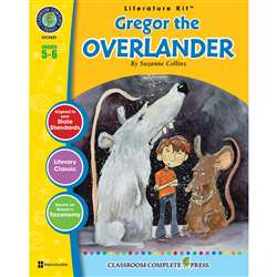 Gregor The Overlander Suzanne Collins Lit Kit Gr 5, CCP2531