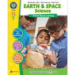 Hands On Science Earth/Space Steam Based Learning, CCP4102