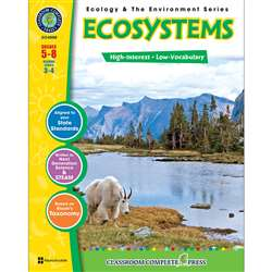 Ecology & The Environment Series Ecosystems By Classroom Complete