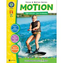 Force & Motion Series Motion By Classroom Complete