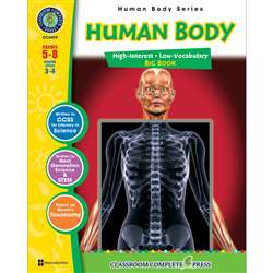 Human Body Big Book By Classroom Complete