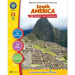 World Continents Series South America By Classroom Complete