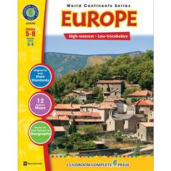 World Continents Series Europe By Classroom Complete
