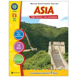World Continents Series Asia By Classroom Complete