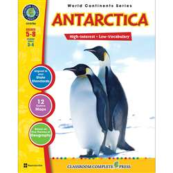 World Continents Series Antarctica By Classroom Complete
