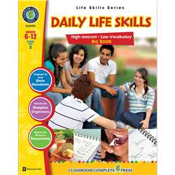 Daily Life Skills Big Book, CCP5793