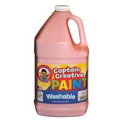 Captain Creative Pink Gallon Washable Paint By Certified Color