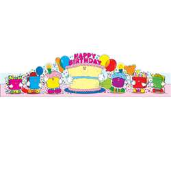 Birthday Crowns 2-Tier Cake 30/Pk By Carson Dellosa