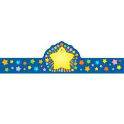 Rainbow Star Crowns 30/Pk By Carson Dellosa