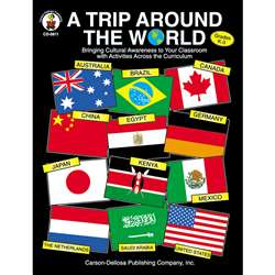 A Trip Around The World Gr K-3 By Carson Dellosa