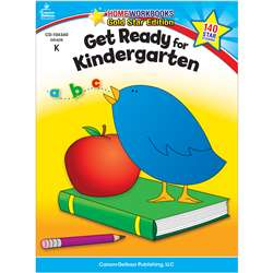 Get Ready For Kindergarten Home Workbook Gr K By Carson Dellosa