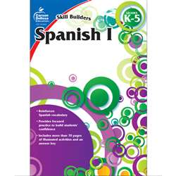 Skill Builders Spanish Level 1 Gr K-5 By Carson Dellosa