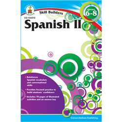 Skill Builders Spanish Level 2 Gr 6-8 By Carson Dellosa