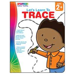 Lets Learn To Trace Spectrum Early Years By Carson Dellosa