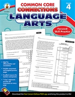 Shop Language Arts Gr 4 Common Core Connections - Cd-104611 By Carson Dellosa