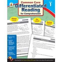 Shop Book 1 Differentiated Reading For Comprehension - Cd-104613 By Carson Dellosa