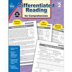 Shop Book 2 Differentiated Reading For Comprehension - Cd-104614 By Carson Dellosa