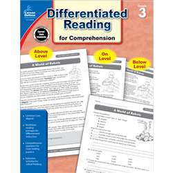 Shop Book 3 Differentiated Reading For Comprehension - Cd-104615 By Carson Dellosa