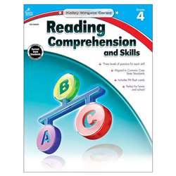 Shop Book 4 Reading Comprehension And Skills - Cd-104622 By Carson Dellosa