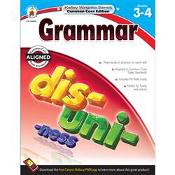 Shop Grammar Book Gr 3-4 - Cd-104634 By Carson Dellosa
