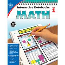 Interactive Notebooks Math Gr 1, CD-104646