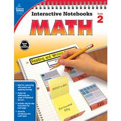 Interactive Notebooks Math Gr 2, CD-104647