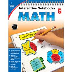 Interactive Notebooks Math Gr 5, CD-104650