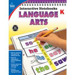 Interactive Notebooks Gr K Language Arts, CD-104651