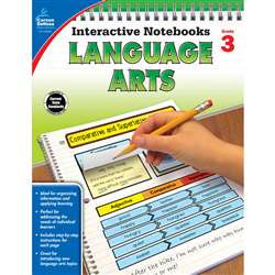 Interactive Notebooks Gr 3 Language Arts, CD-104654