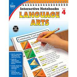 Interactive Notebooks Gr 4 Language Arts, CD-104655