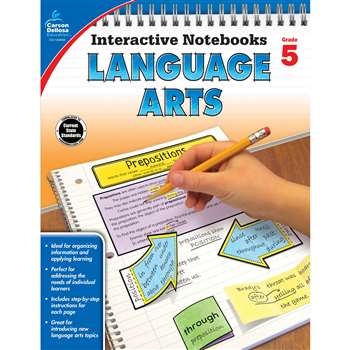 Interactive Notebooks Gr 5 Language Arts, CD-104656