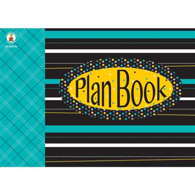 Black White & Bold Plan Book, CD-104796