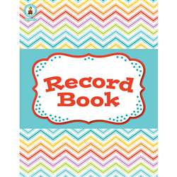 Chevron Record Book Book, CD-104797