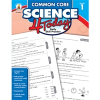 Common Core Science 4 Today Gr 1, CD-104812