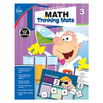 Math Thinking Mats Gr 3, CD-104901