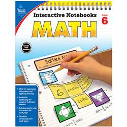 Interactive Notebooks Math Gr 6, CD-104910