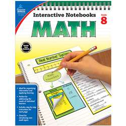 Interactive Notebooks Math Gr 8, CD-104912