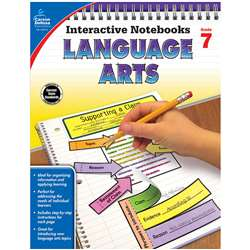 Interactive Notebooks Language Arts Gr 7, CD-104914