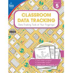 Classroom Data Tracking Gr 5, CD-104921