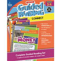 Guided Reading Connect Gr 3-4, CD-104927