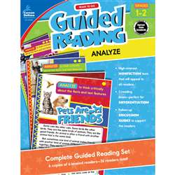 Guided Reading Analyze Gr 1-2, CD-104958