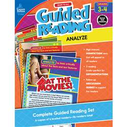 Guided Reading Analyze Gr 3-4, CD-104959