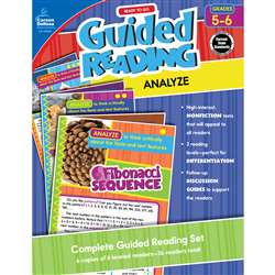 Guided Reading Analyze Gr 5-6, CD-104960