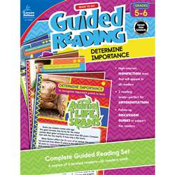 Guided Determine Importance Gr 5-6 Reading, CD-104963