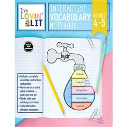 Im Lovin Lit Vocab Notebook Gr 4-5 Interactive, CD-105002